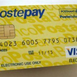 Qual'è il costo di prelievo di una Postepay in Italia e all'estero?
